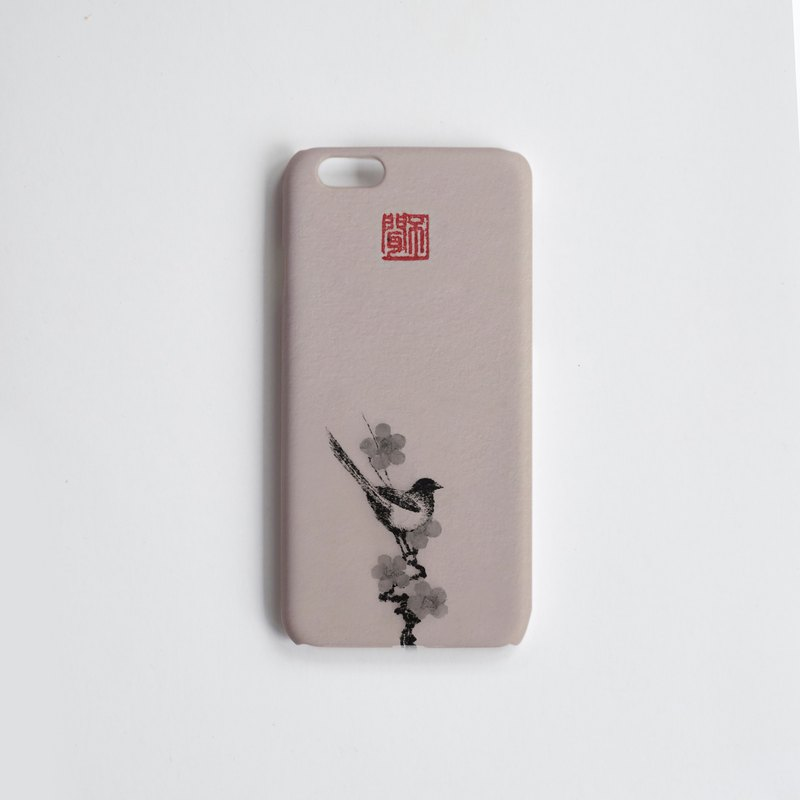 Magpie Huangmei / fragrant snow floor / mobile phone shell