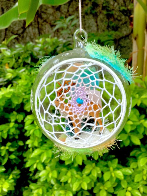 Christmas elk light ball | Dream catcher strap