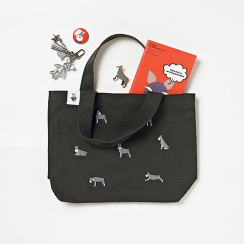 HULA PET CANVAS BAG / LUNCH SCHNAUZER