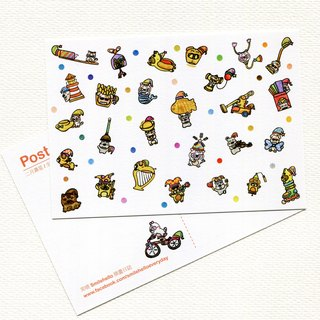 Happy Birthday Every Day (February Birthday Series) / Smile Hello Smilehello Illustration Log Postcard