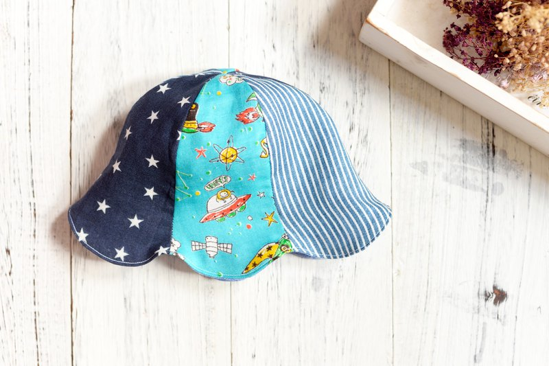 JIJA's HandMade Summer HAT - SPACE