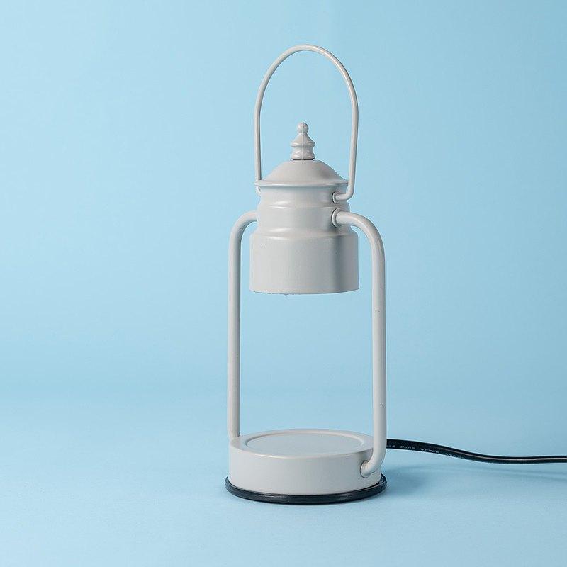 Vana Candles香氛蠟燭暖燈 - 復古金屬(小)白灰款 送蠟燭60g!!
