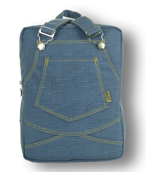 MDF cowboy harness bag ∥ light blue ∥
