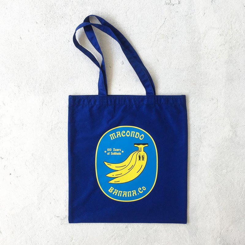 Banana.Co Tote-Bag (Blue)