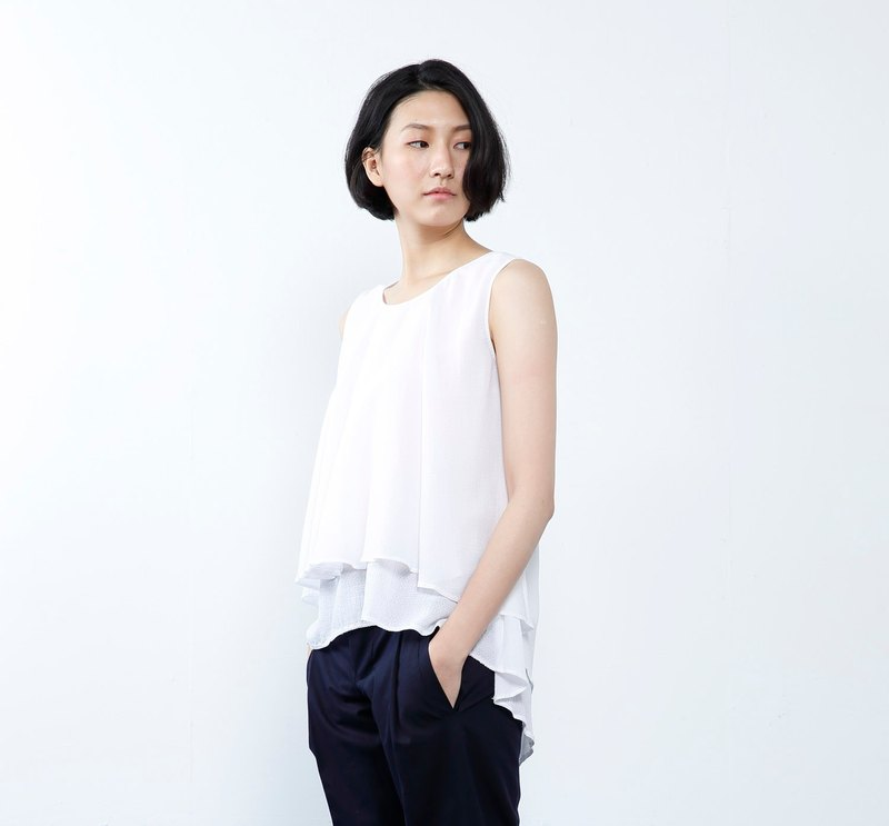 WD Whit Top - Short double layer top