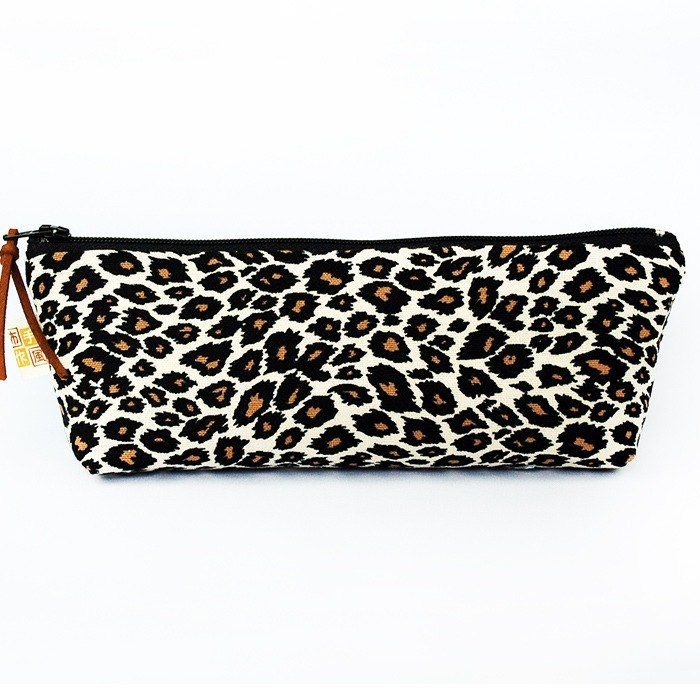 Classic Leopard Pencil Case