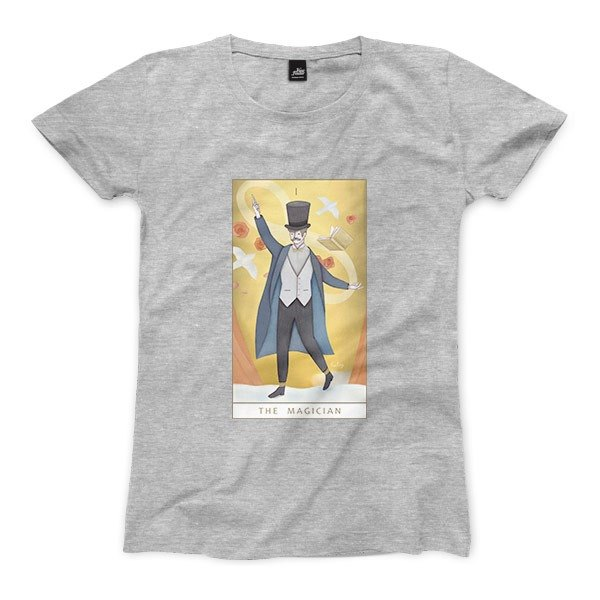 I | The Magician - Deep Heather Grey - Women's T-Shirt