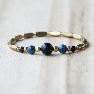 ITS-934 [Natural Stone Series, Origin] Brass Bracelet.