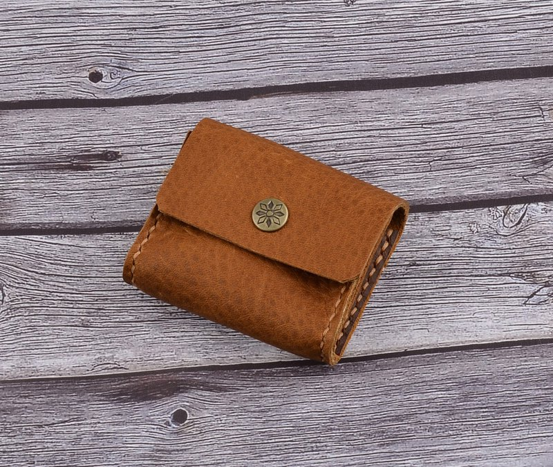 U6.JP6 handmade leather goods - imported leather - simple coin purse / universal wallet