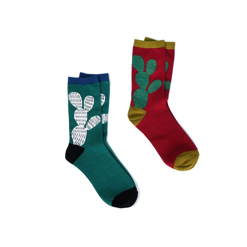 Draft CIAOGAO original design creative cactus men and women four seasons literary cute tube socks