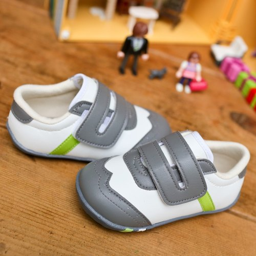 Noah Little Gentleman White White Baby Shoes