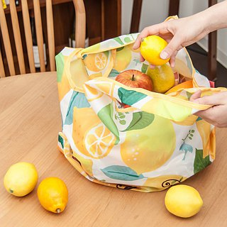 Japanese Prairie Dog Design Bag - Summer Lemon