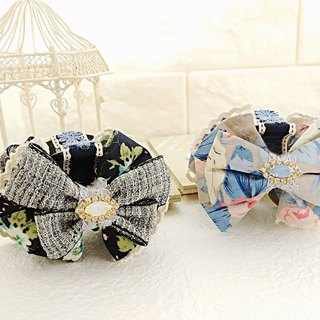 §HUKUROU § sweet French bow clip clip / shark clip (middle)