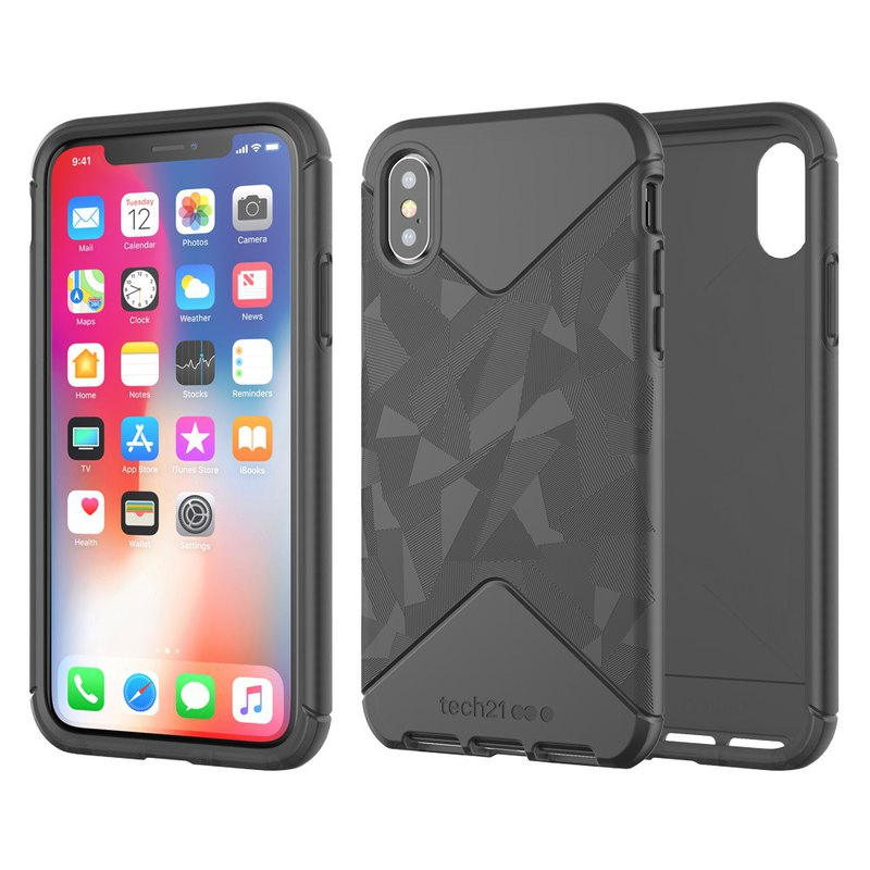 new product 06e0d 2b9cb Tech21 UK Ultra Impact Tactical iPhone X/Xs Anti-collision Protective Case  (5055517385480