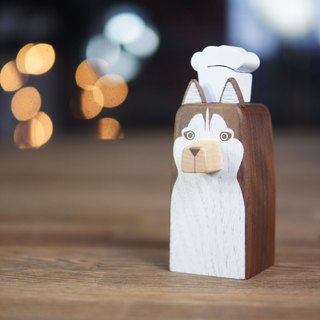 Faithful Dog designed Cruet --HUSKY