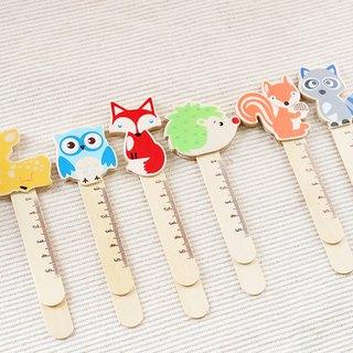 Wooden forest friend bookmarker