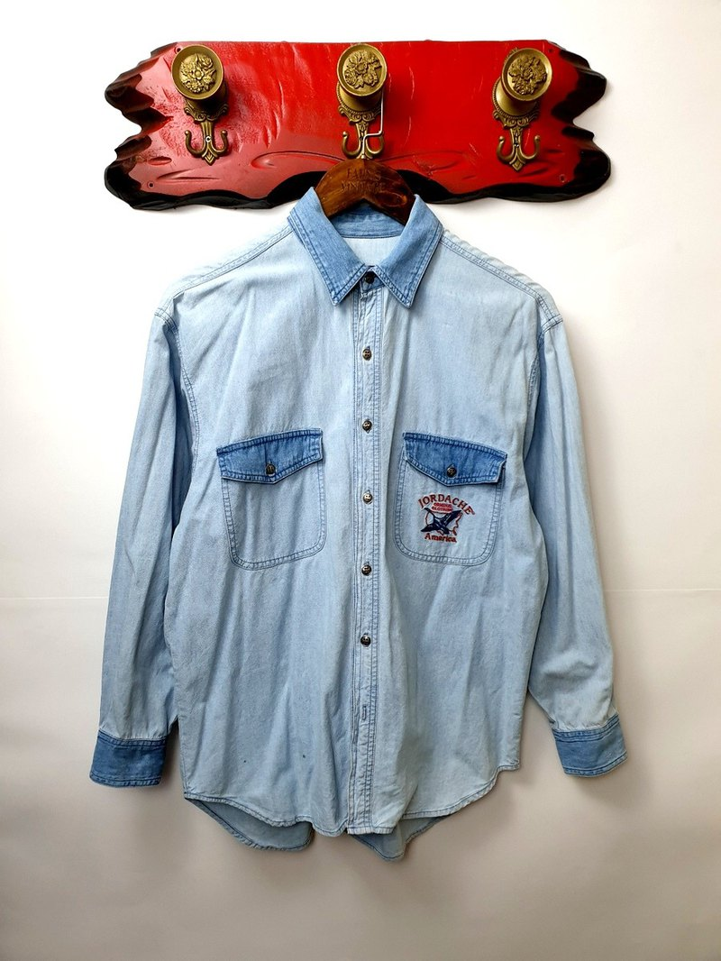 Little Turtle Gege - JORDACHE Embroidery Dening Work Shirt