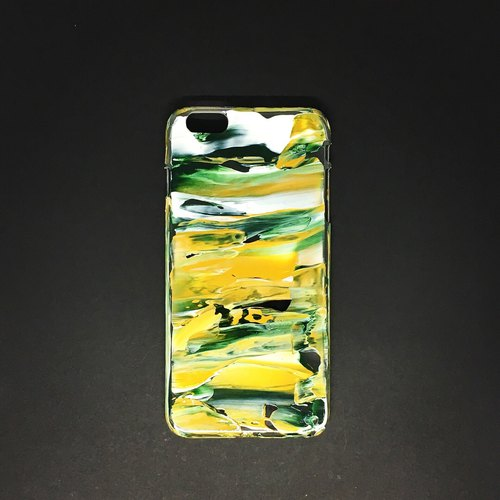 Acrylic Hand Paint Phone Case | iPhone 6/6s+ |  Chaos in Brazil