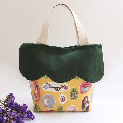 Cute hedgehog and tote color matching handbag - arc models
