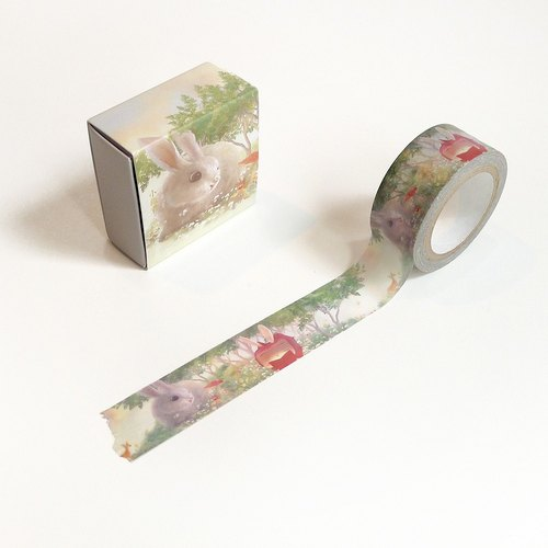 XiaoTieJun Masking Tape︱Flowers are Small Universe