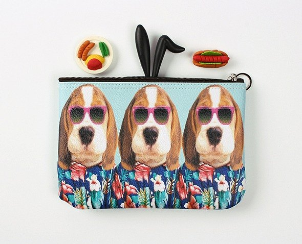 STILL AND CHEW Pouch Cosmetic Bag - FASHIONISTA