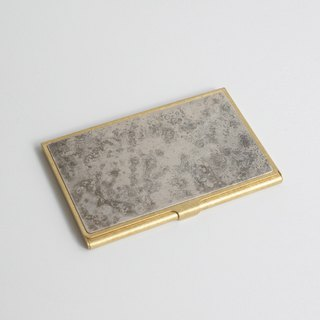Brass Card Case (Marble)