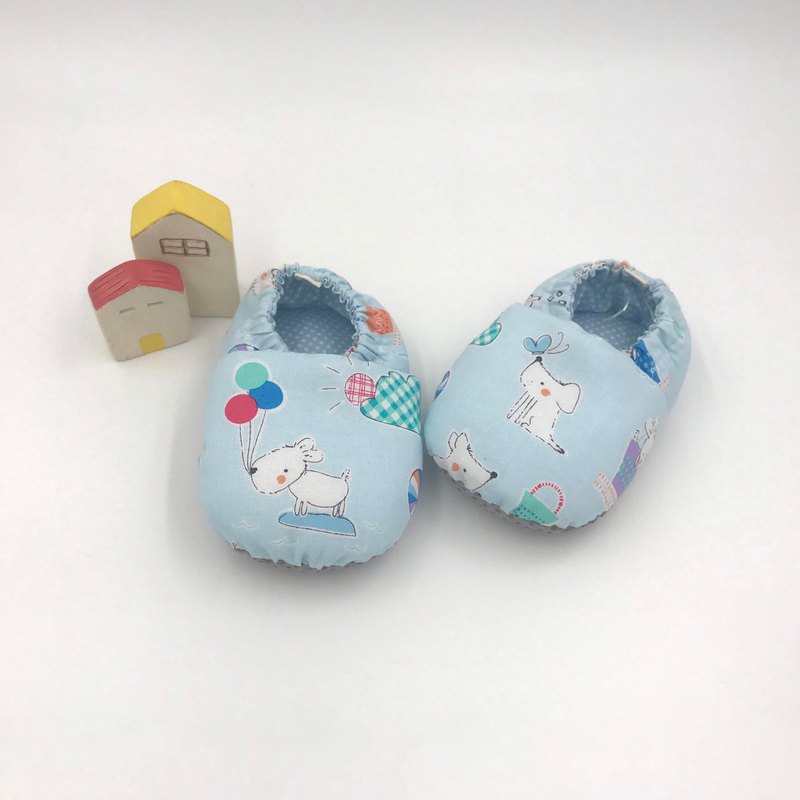 European and American blue dog - toddler shoes / baby shoes / baby shoes