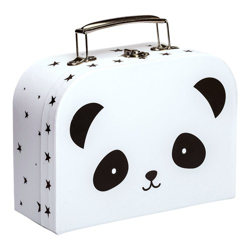 Netherlands a Little Lovely Company – Healing Black Panda Portable Storage Box