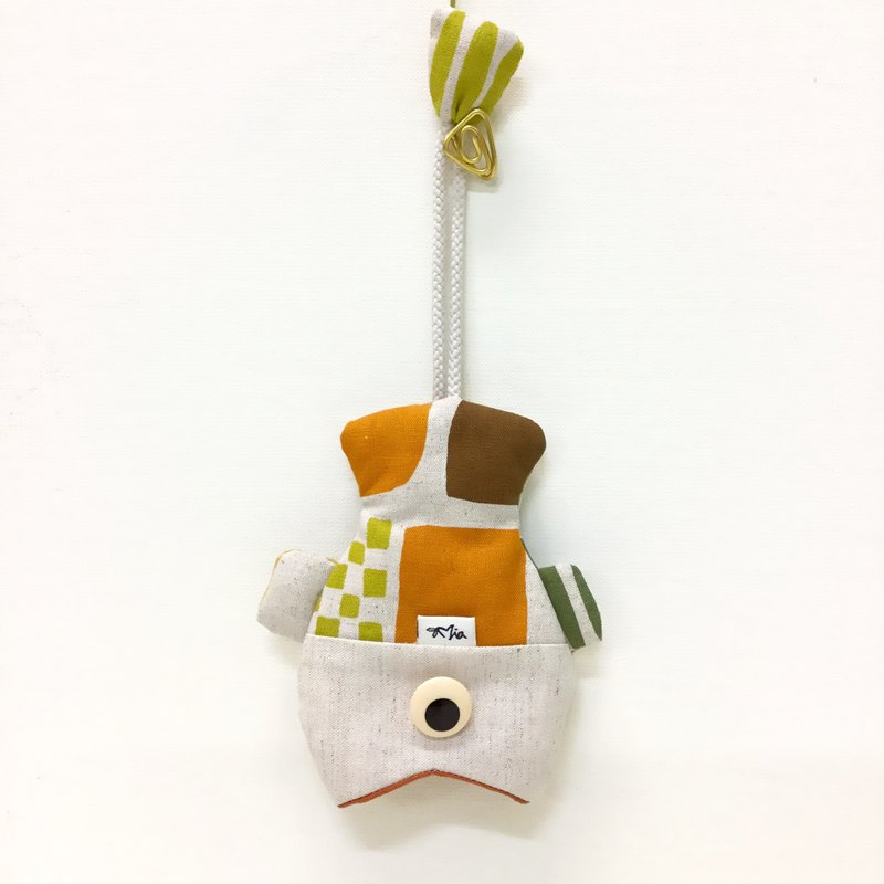 Cute fish and fish key bag - eye-catching and practical