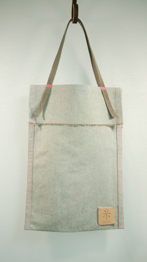A4 whims accompanying bags (fluorescent peach)
