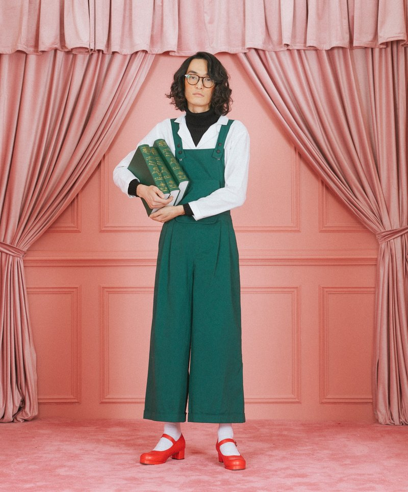 Detachable oversize suspender pants (unisex)
