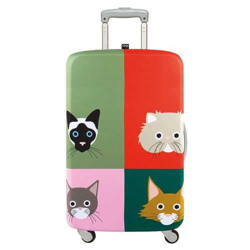 LOQI luggage jacket / cat uncle [L]