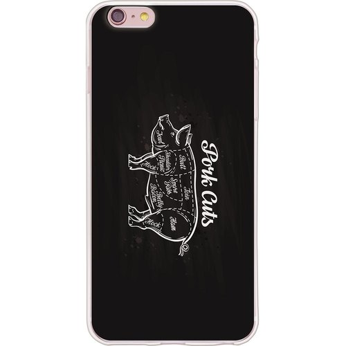"New designer - ""pig chop"" - TPU phone case <iPhone/Samsung/HTC/LG/Sony/小米> *"