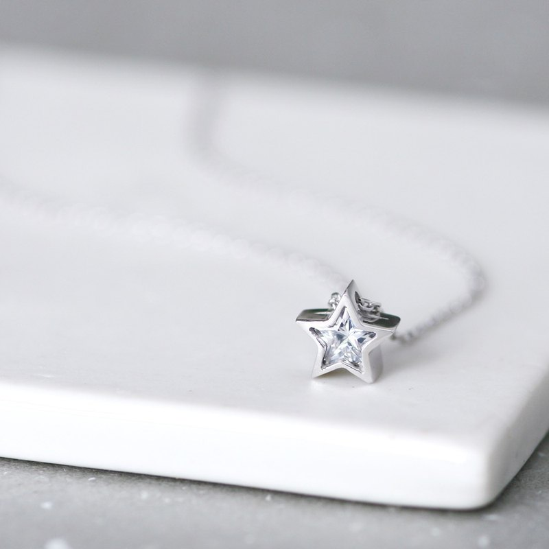White Star ネックレス 925 Sterling Silver