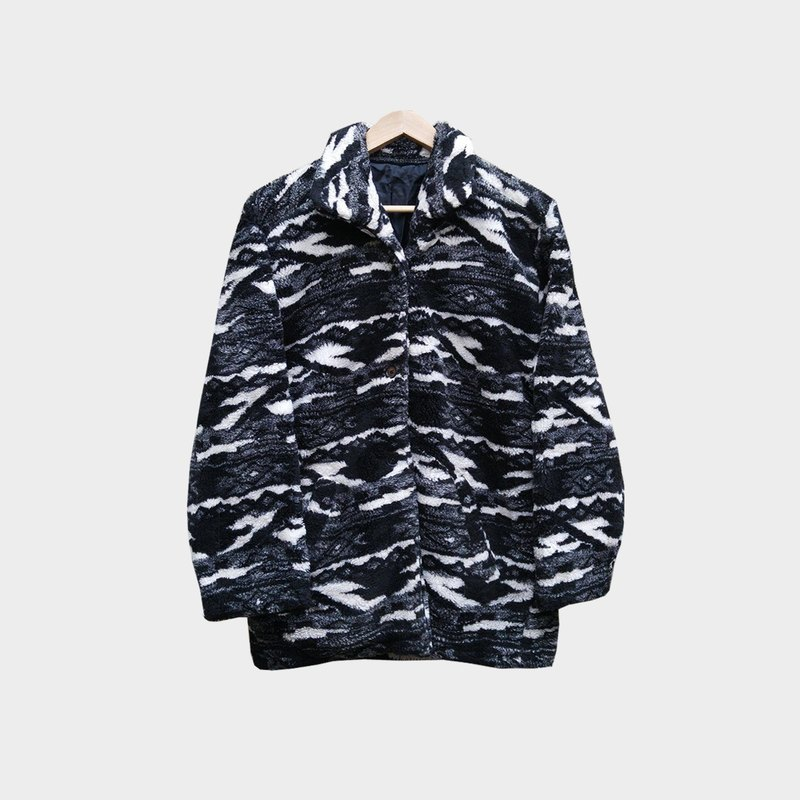 Dislocation vintage / Camo fleece coat no.B29 vintage