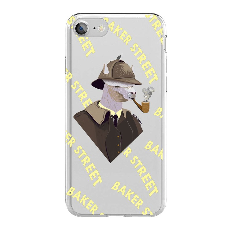 British Fashion Brand -Baker Street- iPhone Case - Sherlock Holpaca