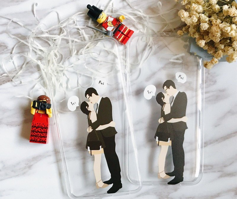 Customized couple / friend / portrait guest chassis PHONECASE