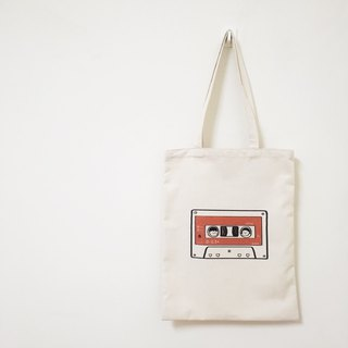 : Do you want to go to the concert with me: Cassette canvas bag (two colors)