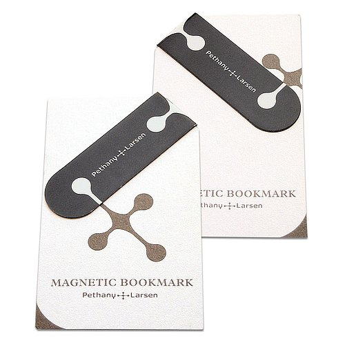 【Magnetic bookmark】 Pethany + Larsen brand limited