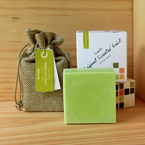 Lemongrass Garden Essential Oil Fragrance Bricks │ Handmade