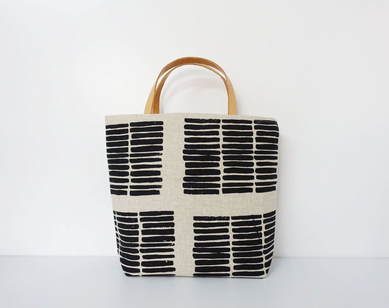 Screen printing  Tote bag  wood