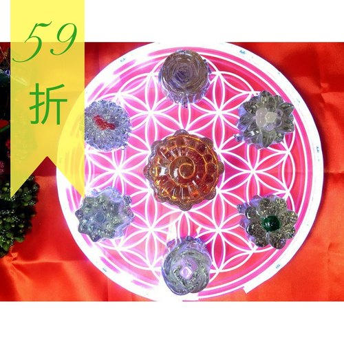 【The Flower of Life❀/Hexagram✡Balance/Open Chakra-9th Anniversary 59 Discount limited edition combination】