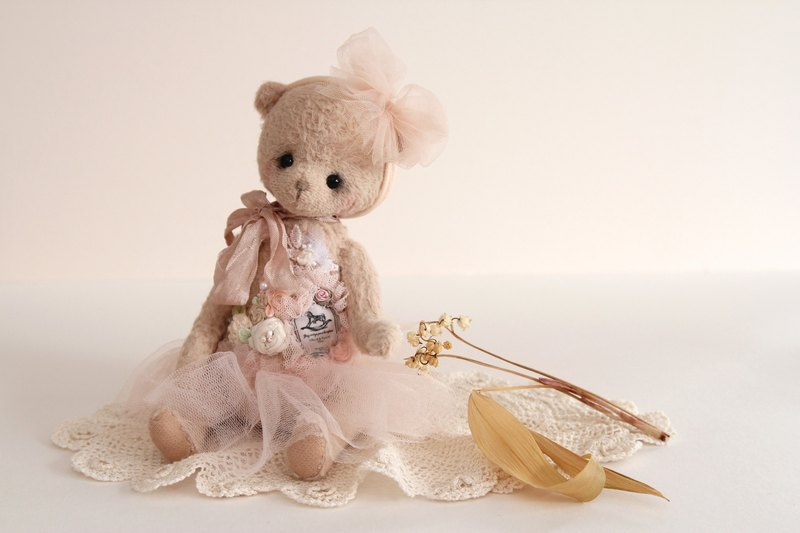 Teddy Bear Teddy Bear Tattoo Little Doll Accessories Doll Headdress Blythe Blythe Headdress Hand Panda Headdress Doll Headdress Doll Accessories