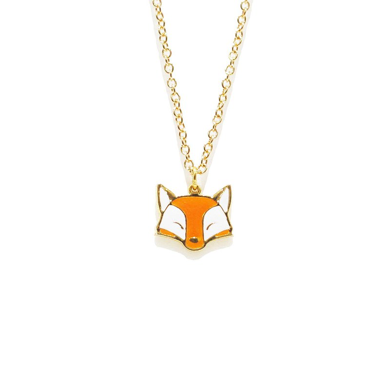 Farm Fox Necklace