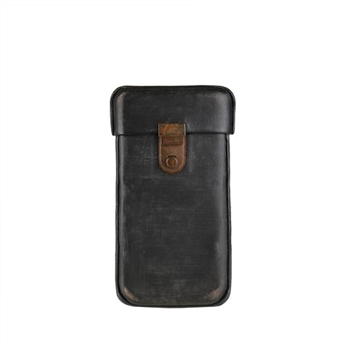 Vintage washed leather iPhone6 ​​Phone Case