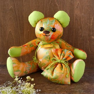 Kimono Teddy Bear Premium and Odor Bag Xmas Gift Package