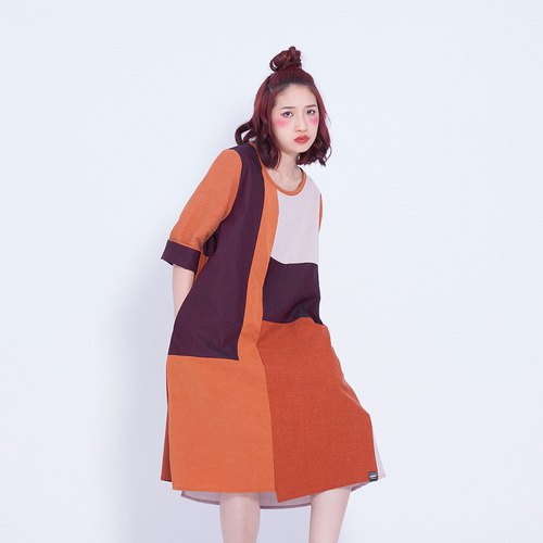 Corsage _ layer long dress Taiwan Design