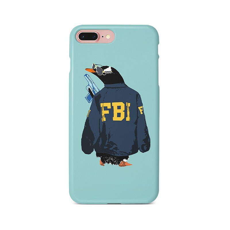 iPhone case / FBI penguin