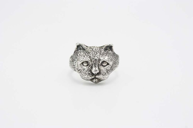 Cat Series・Cats and Fish/Silver Rings