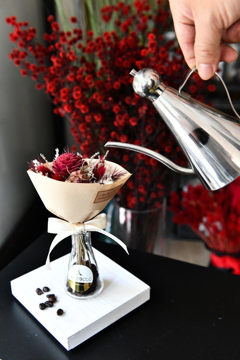 咖啡香氛花束瓶組